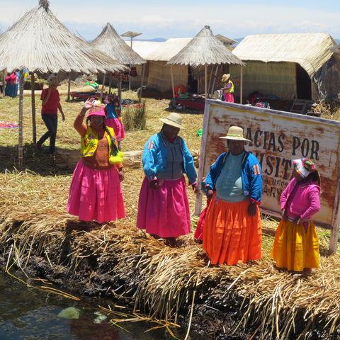 Zu Besuch bei einer indigenen Familie, Peru