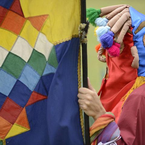 Verkleidung während Inti Raymi © Misha Shiyanov, Dreamstime.com