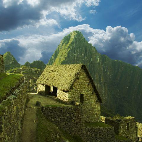 Die einstige Inka Stadt Machu Picchu, Peru