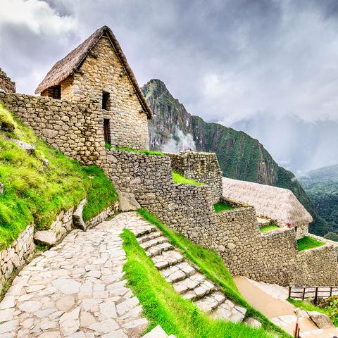 Eine Wanderung durch längst vergangene Zeiten, Machu Picchu, Peru