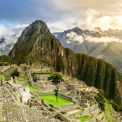 Faszinierdender Machu Picchu, Peru
