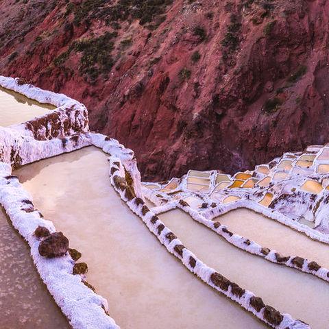 Salzterrassen in Maras, Peru