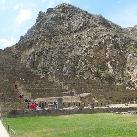Ruinen von Ollantaytambo, Peru