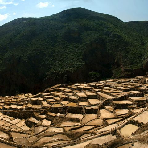 Salzberwiesen der Inkas, Peru