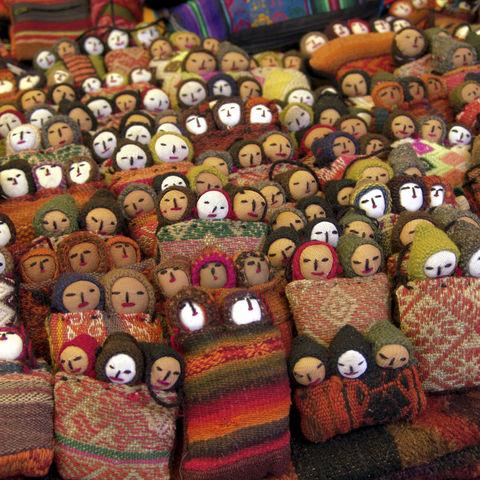 Peruanische Sorgenpüppchen, Peru