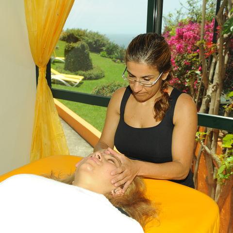 Massage im Hotel Alpino Atlantico, Portugal