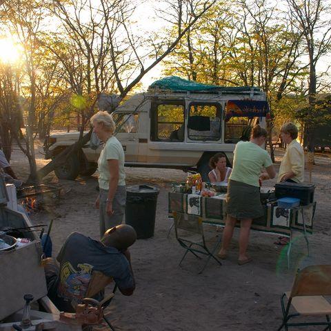 Campsite © Jenman Safaris
