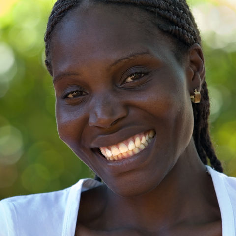 Junge Frau, Simbabwe