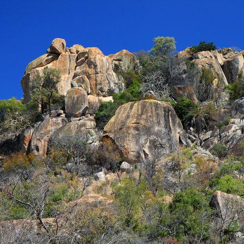 Felsformationen im Matobo Nationalpark, Simbabwe