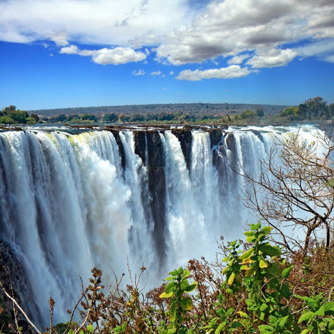 Die Viktoria-Fälle, Simbabwe