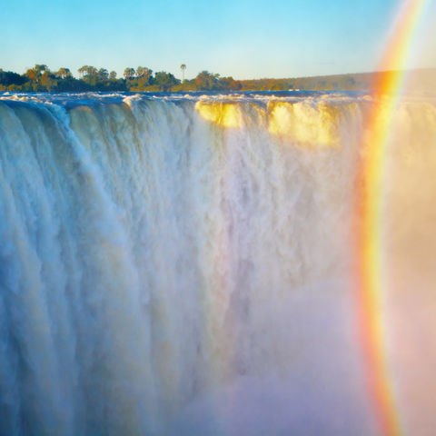 UNESCO-Weltnaturerbe – die Viktoriafälle, Simbabwe
