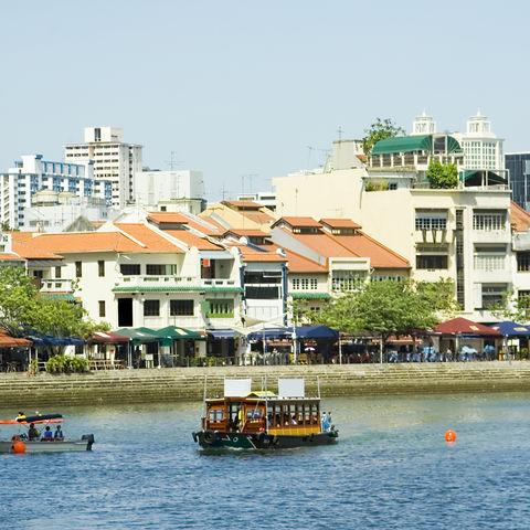 Promenade am Singapore River, Singapur