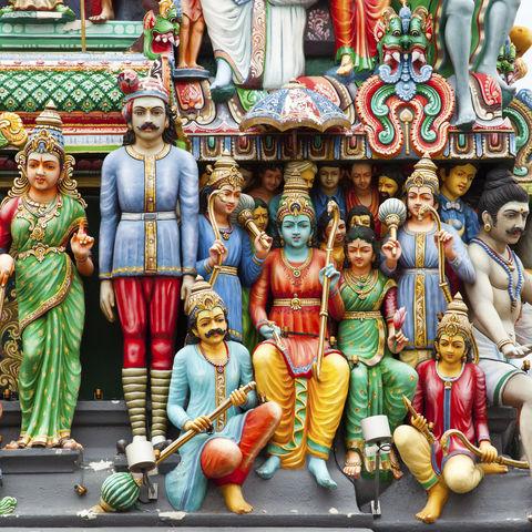 Ältester Hindutempel des Stadtstaates: Sri Mariamman Tempel, Singapur