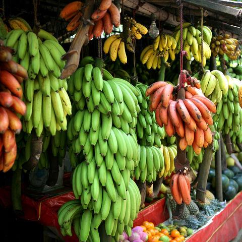 Bananen auf dem Markt, Sri Lanka