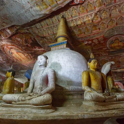 Höhlentempel von Dambulla, Sri Lanka