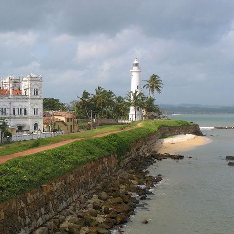 Der Leuchtturm von Galle, Sri Lanka