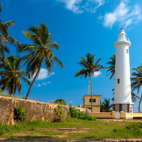 Leuchtturm in Galle, Sri Lanka