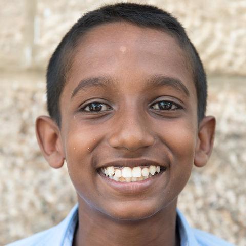 Kinderaugen sagen mehr als tausend Worte!, Sri Lanka