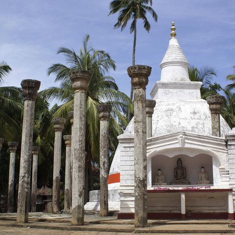 Buddhistische Anlage in Mihintale, Sri Lanka