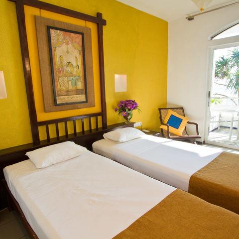 Zimmer mit Balkon, Sri Lanka