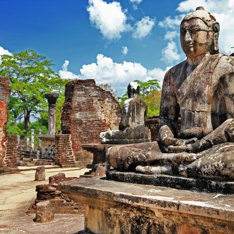 Tempel in Polonnaruwa, Sri Lanka
