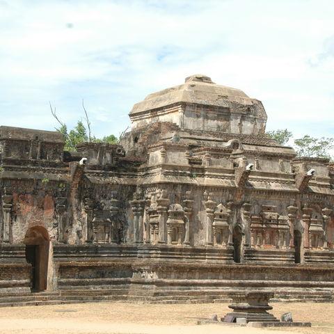 Die Tempelanlage Polonnaruwa, Sri Lanka