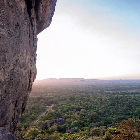 Blick über den Dschungel, Sri Lanka