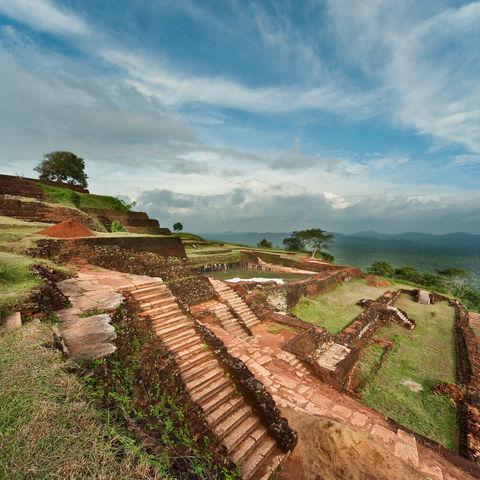 Legendäre Felsenfestung von Sigiriya, Sri Lanka