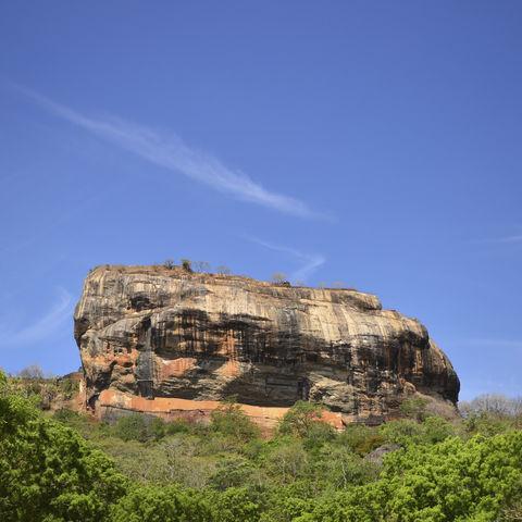 Monolith von Sigiriya, Sri Lanka