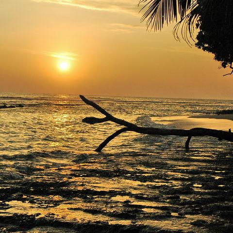 Stimmungsvoller Sonnenuntergang, Sri Lanka