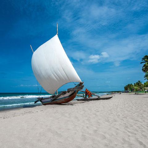 Idyllischer Strand, Sri Lanka