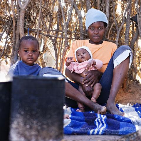 Afrikanische Familie, Südafrika