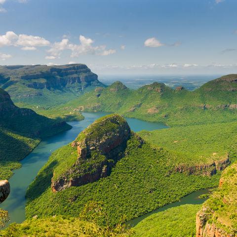 Ausblick auf den Blyde River Canyon, Südafrika