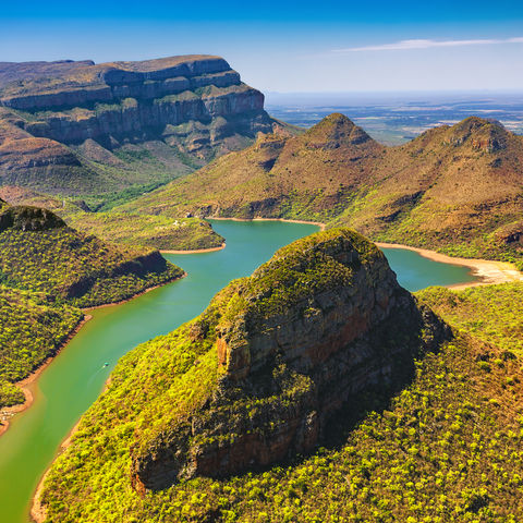 Teil der Panoramaroute: Blyde River Canyon, Südafrika