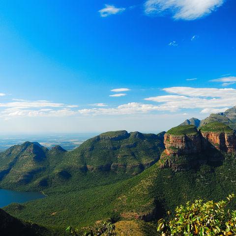 Der Blyde River Canyon, Südafrika