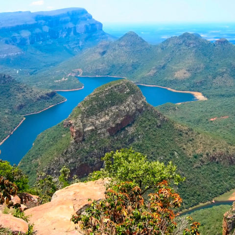 Blick auf den Blyde River Canyon, Südafrika