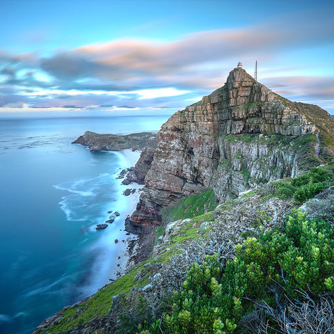 Am Südende der Kap-Halbinsel: Cape Point, Südafrika