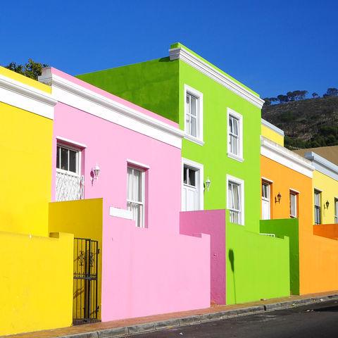 Bo-Kaap in Kapstadt, Südafrika