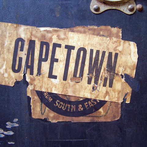 Reisesticker Kapstadt, Südafrika