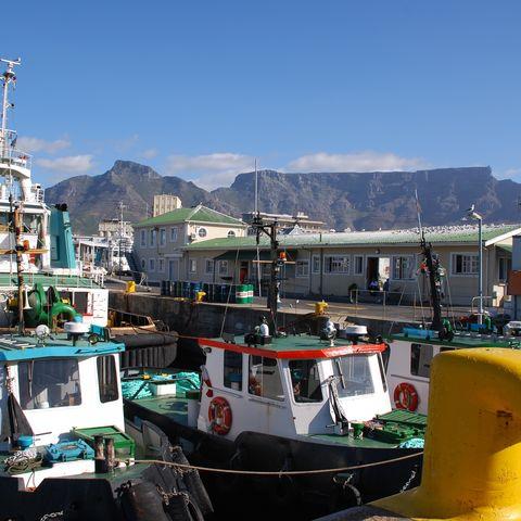 Die V&A Waterfront in Kapstadt, Südafrika
