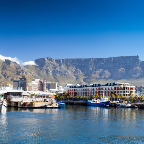 Victoria & Alfred Waterfront in Kapstadt, Südafrika