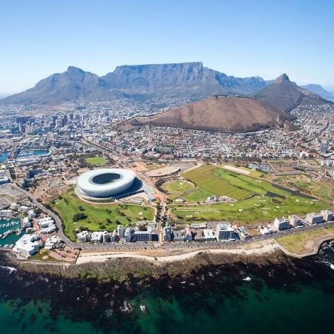 Kapstadt aus der Vogelperspektive, Südafrika