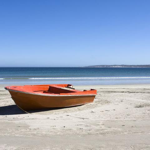 Boot in Paternoster, Südafrika