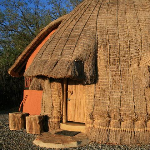Traditionelle Swaziland Hütte, Südafrika