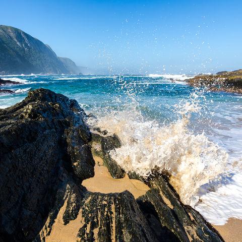 Wilde Natur- und Meereslandschaften: Tsitsikamma Nationalpark, Südafrika
