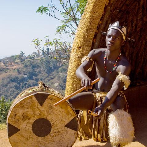 Zulu-Trommler, Südafrika