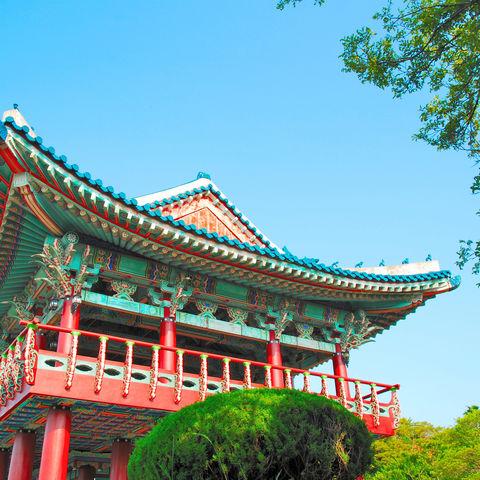 Koreanischer Tempel, Südkorea