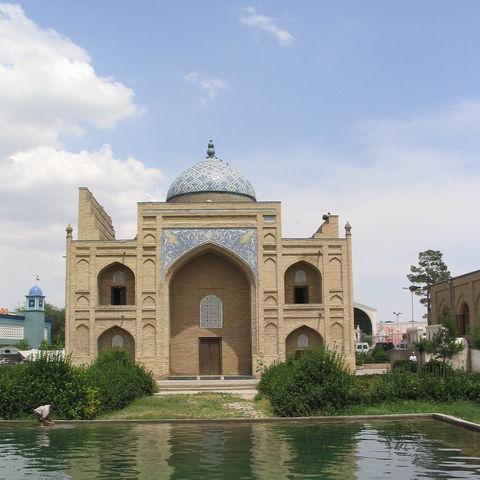 Sheikh-Maslikhiddin-Mausoleum in Chudschand, Tadschikistan