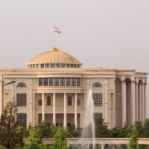 Palast der Nationen in Dushanbe, Tadschikistan