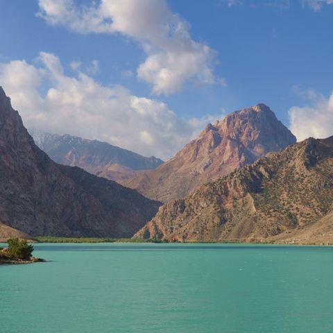 Malerischer Iskanderkul-See, Tadschikistan